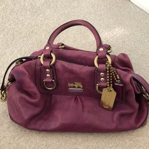 Coach purse small satchel